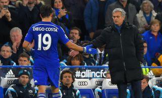 Jose Mourinho i Diego Costa