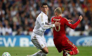 Cristiano Ronaldo i Arjen Robben